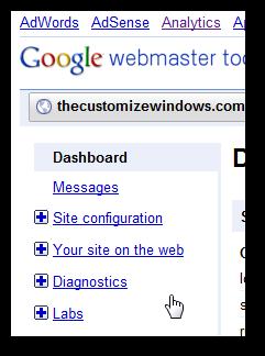 Understanding the Google Webmaster Tools