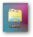 Add search function to Windows 7 jumplist or taskbar