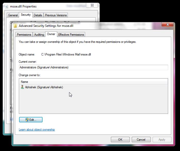 Get back Windows Mail in Windows 7 SP1-4