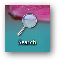 search function to Windows 7 jumplist or taskbar