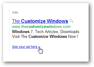 Google Adwords search Ads advertisements