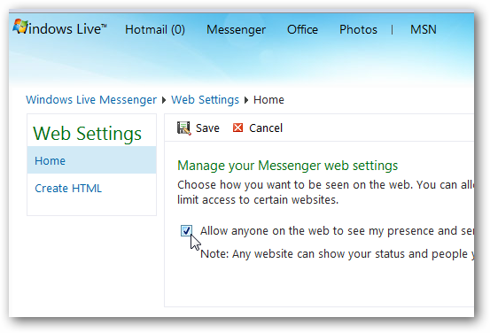 Live Chat in Wordpress blog : Create a Chat Page using
