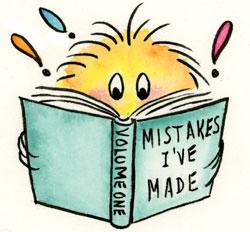 Mistakes on Blogs
