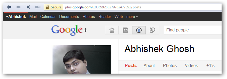 Google Plus Project Social Network
