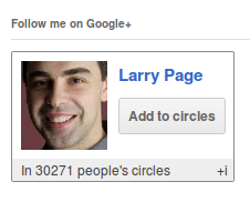 Google Plus WordPress Plugin googleCards to show Google+ Followers