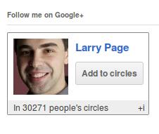 Google Plus WordPress Plugin googleCards to show Google+ Followers