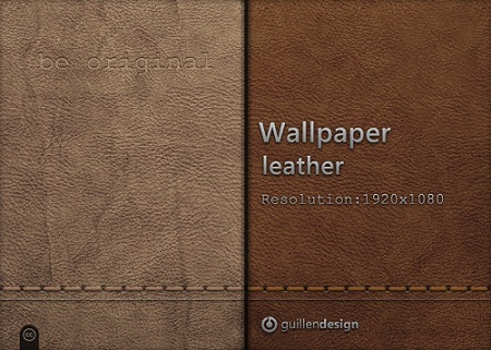 Leather Texture Wallpaper