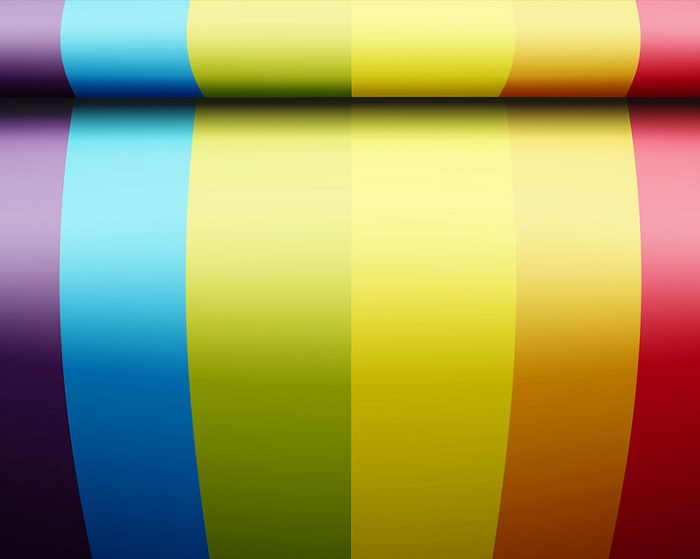 Rainbow Bolt Wallpaper