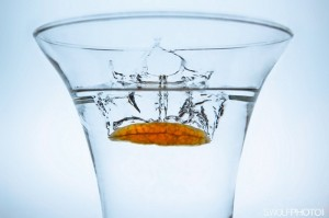 Splash in a Glass of Water