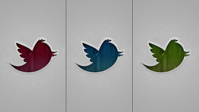 Twitter Wallpaper available in three assorted colors