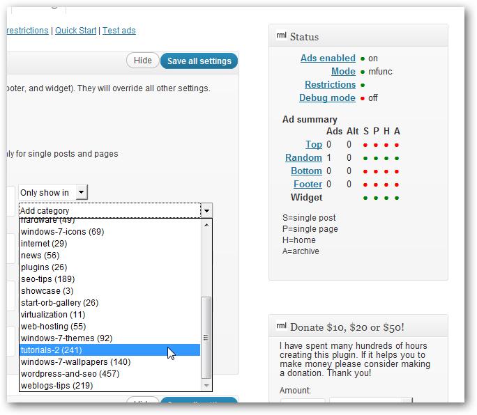 Best AdSense Ad Code Injector Plugin For WordPress
