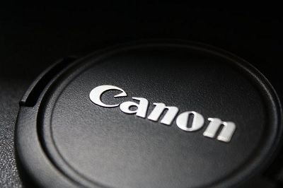 Canon Lens Cap Close Up Shot Wallpaper