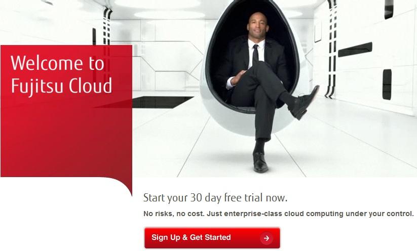 Cloud Computing Free Trial of 30 days from Fujitsu Global Cloud