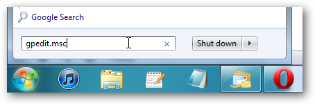 Disable and Remove Shutdown Option From Windows 7 to Control Users