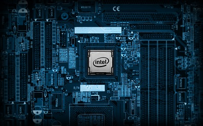 Intel Chip Set Wallpaper for Desktop