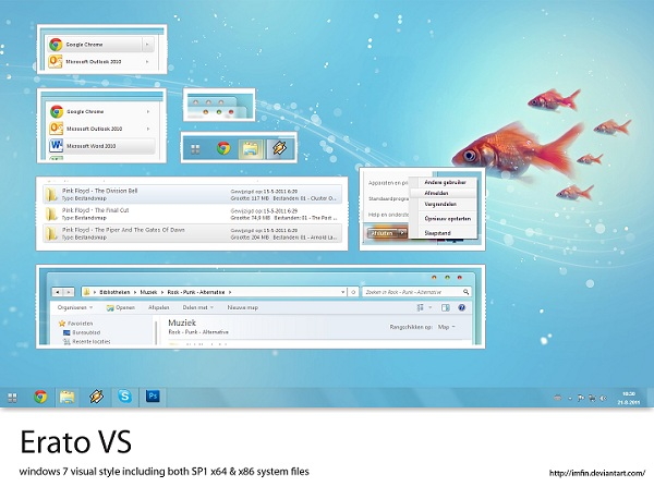 Windows 7 Theme Erato