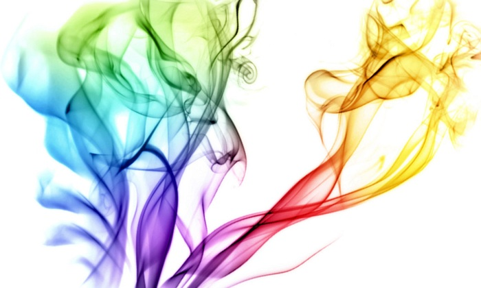 Chromatic Smoke Wallpaper