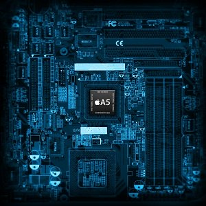 Intel Chip Set Wallpaper for iPad
