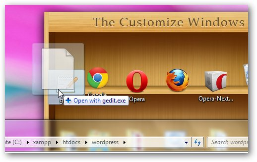 Open and Edit .htaccess and other dot files in Windows 7