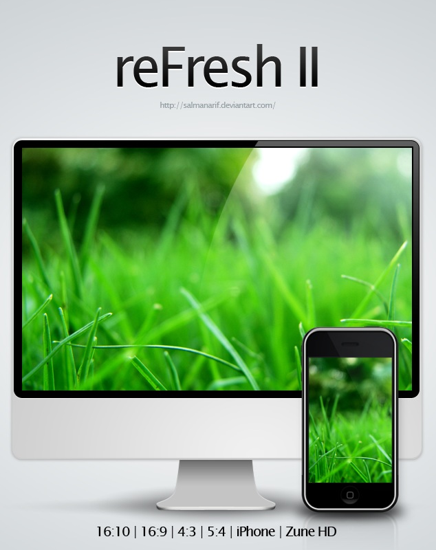 Refresh Wallpaper Pack-Green Grassy Wallpaper of various resolutions