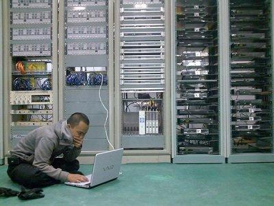 Server Room Wallpaper