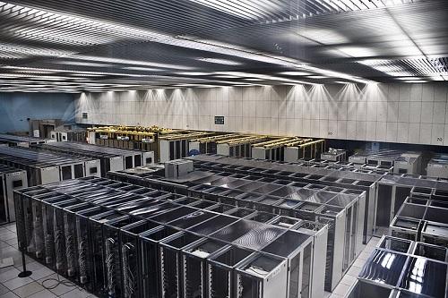 Server room in CERN