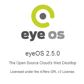 Cloud OS eyeOS - Install on server