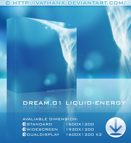 Liquid Energy Wallpaper