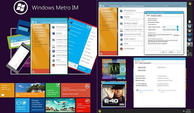 Metro UI Theme for Windows 7