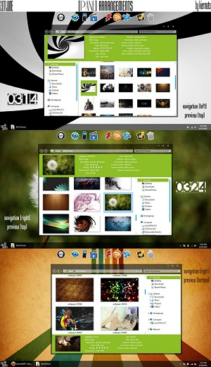 Metro UI and Mango Inspired Two New Windows 7 Themes