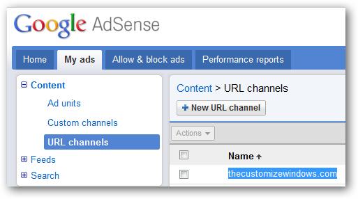 AdSense URL Channels - Get Maximum Revenue From WordPress Blog