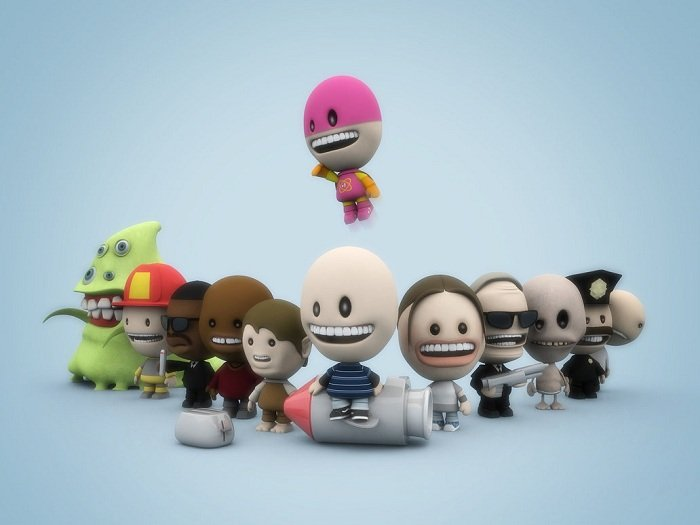 Amazing Funny 3D Cartoon Characters