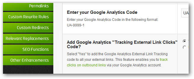 Outgoing Traffic and Clicks Measurement with Google Analytics