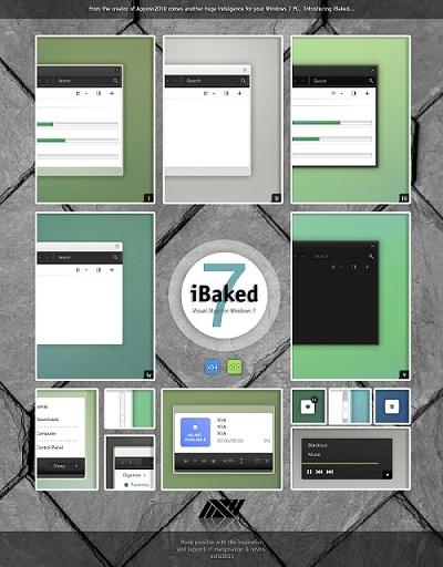 Wudows 7 Theme iBaked