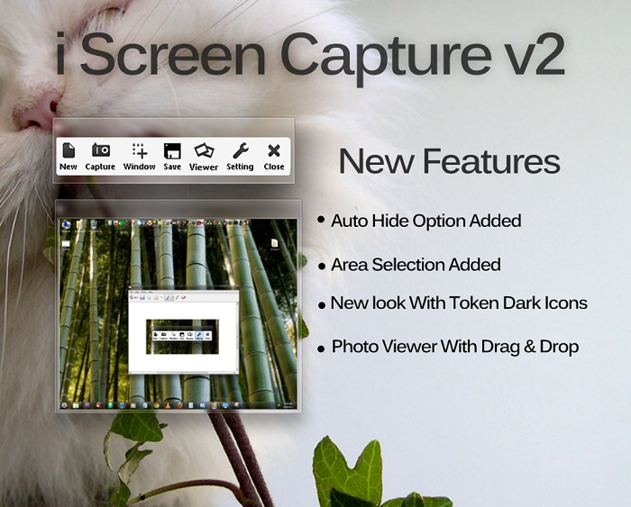 Free Screen Shot Capture Tool iCapture For Windows 7