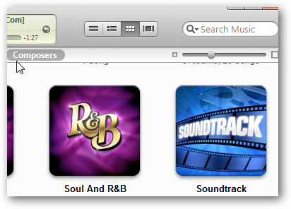 itunes 10 grid view