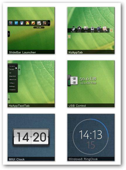 Customize Windows With XWIdget