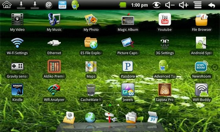 ROMs For Android Tablets in Details