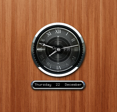 Stallion Clock for XWidget