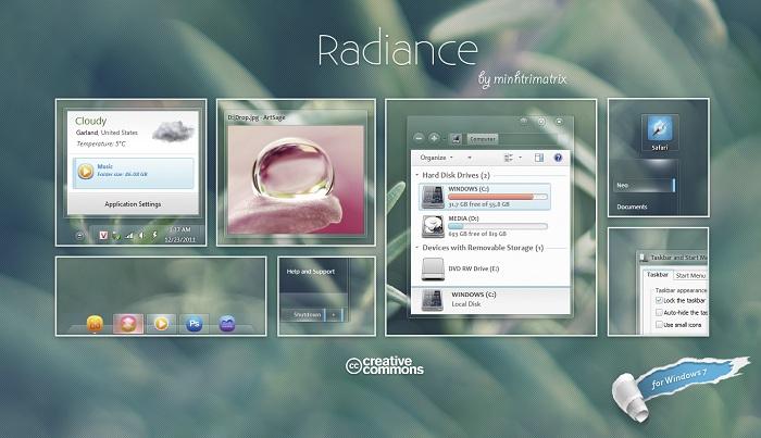 Windows 7 Theme Radiance
