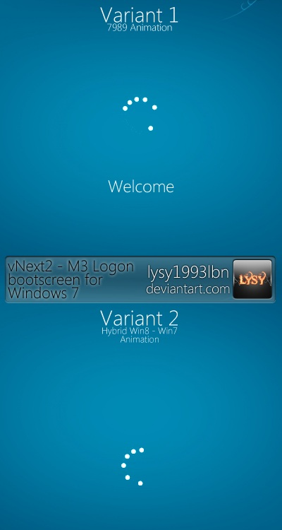 Windows 8 Style vNext2 BootScreen for Windows 7