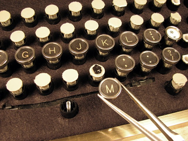 steampunk keyboard keys