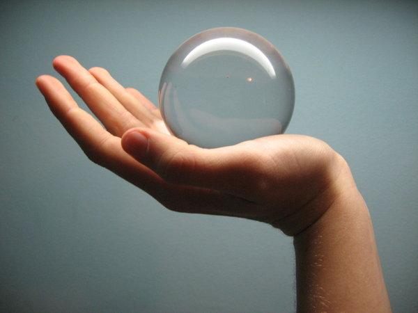 Glass Ball of Life Wallpaper