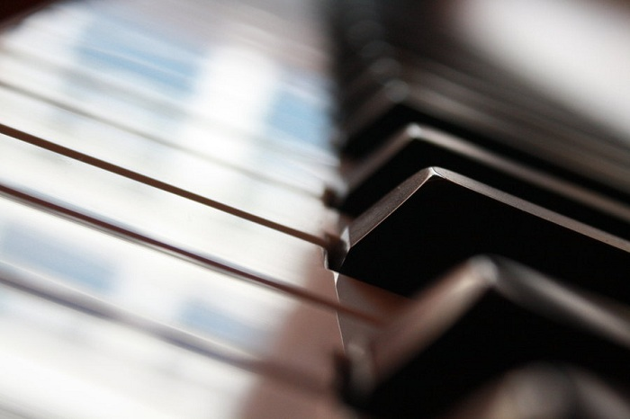 Piano Keys Wallpaper