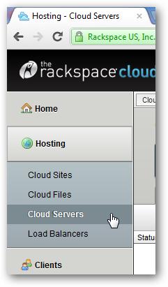 install WordPress on Rackspace Cloud Server