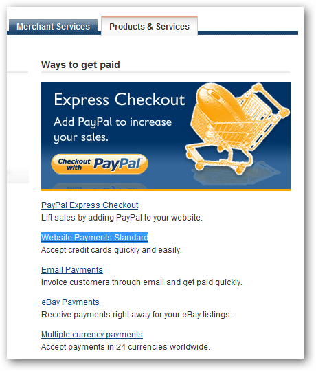 how to create paypal button for payment