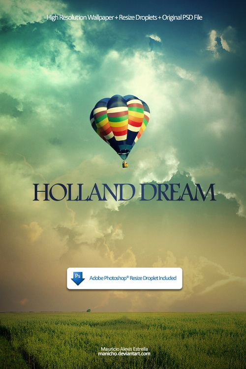 Holland Dream Wallpaper