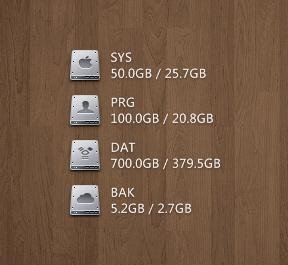Mac Style Hard Disk Widget-2
