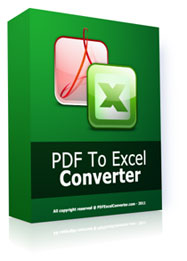 PDF To Excel Converter Premium Software worth $39.95 as FREE Giveaway