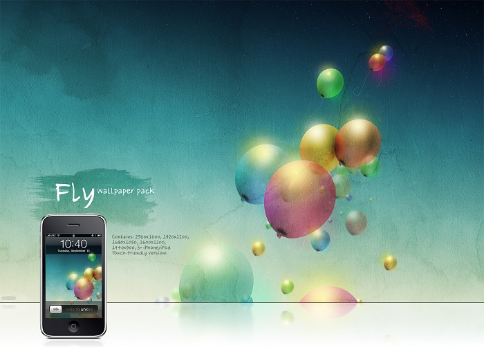 Fly Wallpaper Pack